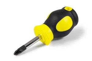 Werkzeuggriff aus zwei verschiedenen Kunststoffen