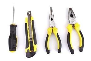 Silikon-Kunststoff-Verbindungen für Werkzeuggriffe